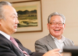 村上氏、松本氏対談