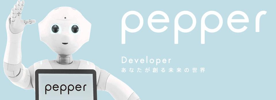 pepperアプリ開発